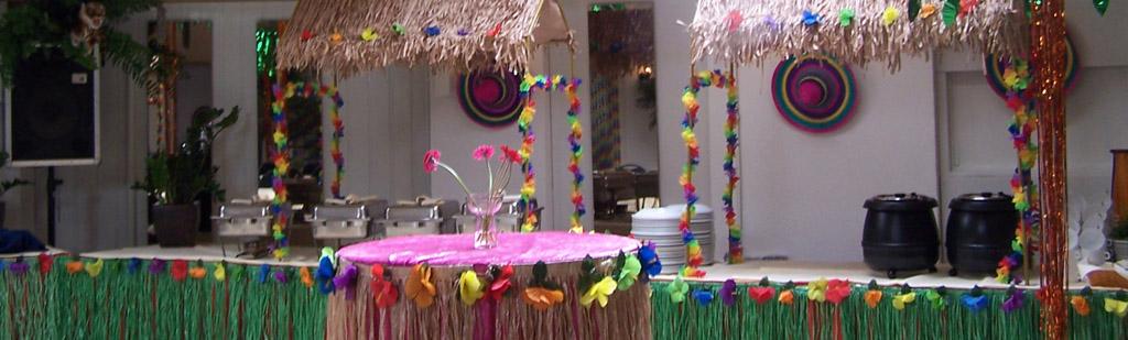 Tropisch thema feest for Decoratie feest